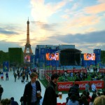 ParisはEURO 2016 で盛り上がっています。 2016/06/12