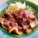 『豚肉の黄金生姜焼き』のレシピをご紹介しています。 2016/06/25