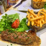 andouillette 〜アンドゥイエットを頂きました。From paris 2016/12/14