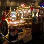 シュトラスブルククリスマスマーケットのお店。From France 2016/12/21
