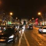 クリスマスのシャンゼリゼ通り。 From Paris 2016/12/23