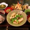 Parisのごはんだけど天ぷら定食。 From Paris 2016/12/26