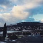フランスオーベルニュも雪です。 From France 2017/1/14