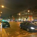夜のシャンゼリゼ通りをお散歩しました。From Paris 2017/3/23