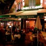 パリの老舗カフェ「Les Deux Magots(レ・ドゥ・マゴ) From Paris 2017/10/19
