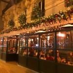 新年のパリのカフェ。 2017/1/7